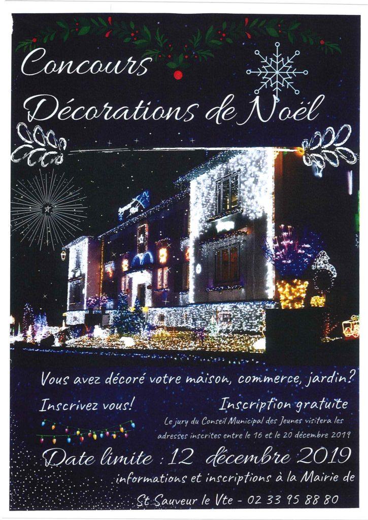 Concours décorations de Noel